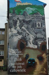 Kapral Wojtek - mural