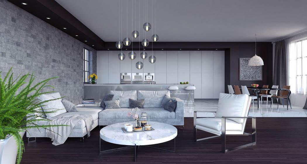 Oświetlenie W Salonie Jako Istotny Element Aranżacji Wnętrza